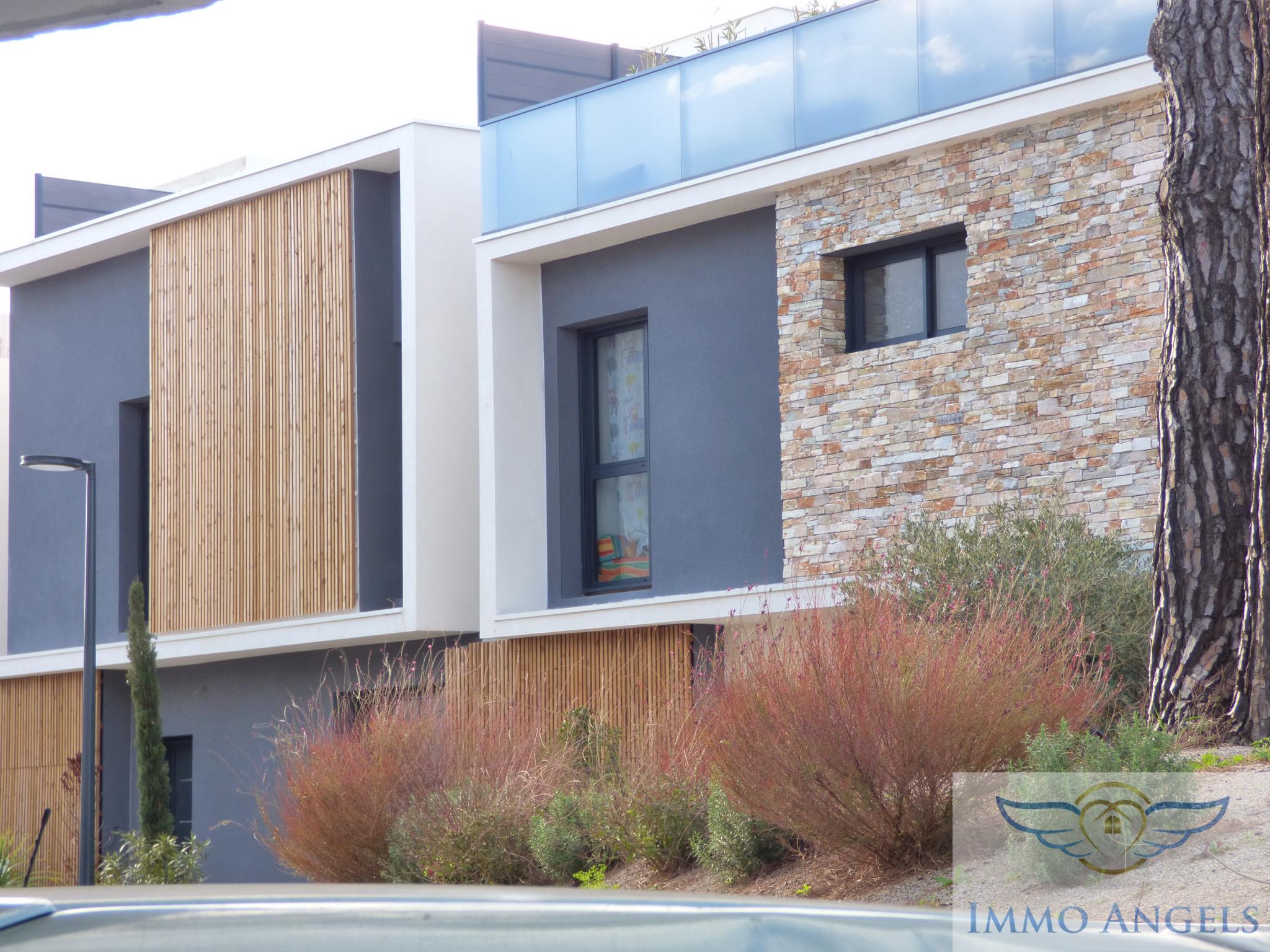 vente Montpellier Maison d'architecte T5 130m² avec jardin et garage. En ville, belles ...